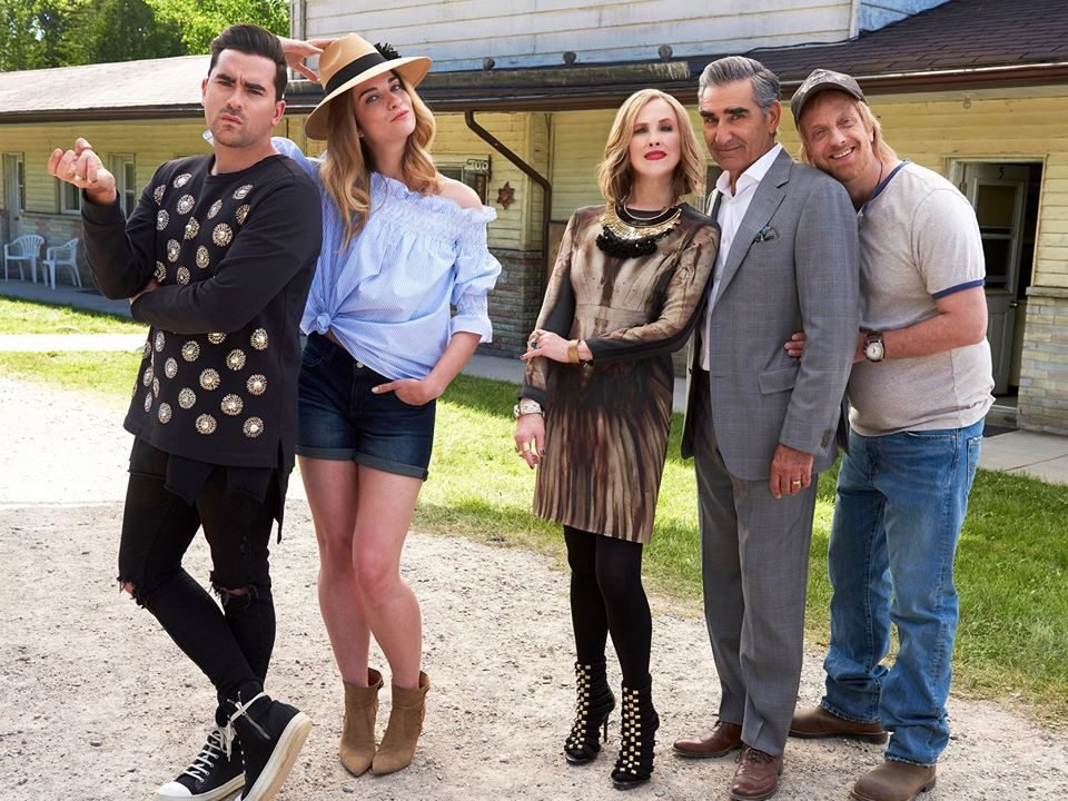 Schitt's Creek quotes - Rose famliy at Rosebud Motel