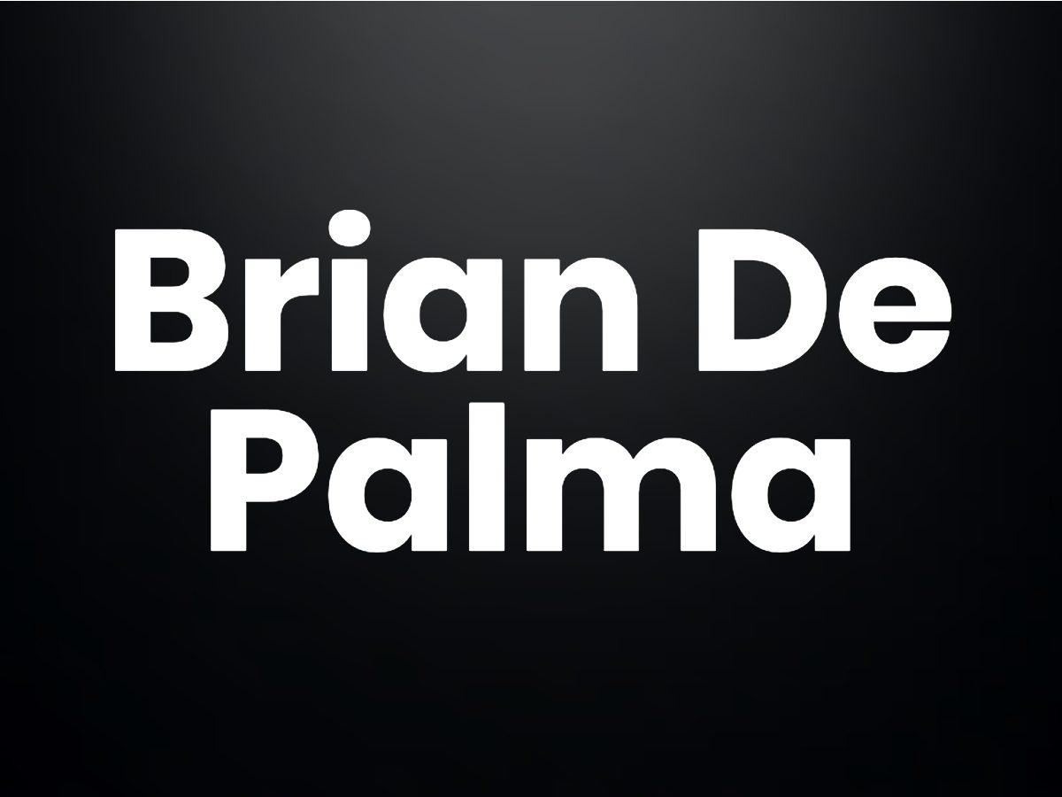 Trivia questions - Brian De Palma