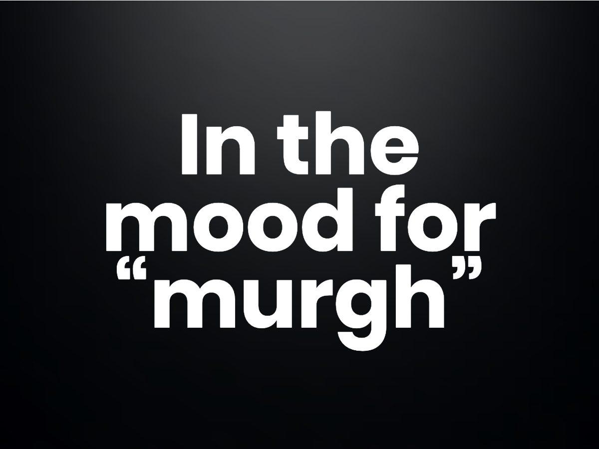 "Trivia questions - ""murgh"""
