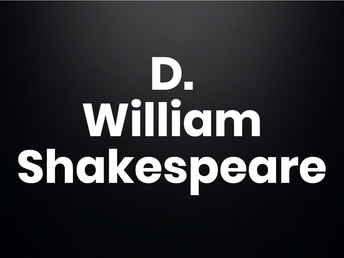Trivia questions - William Shakespeare