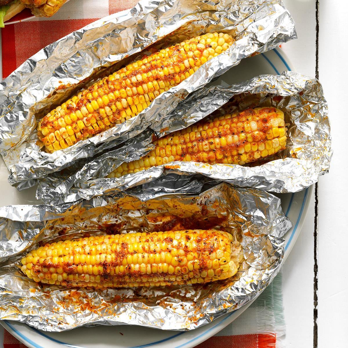 Slow cooked cajun corn recipe