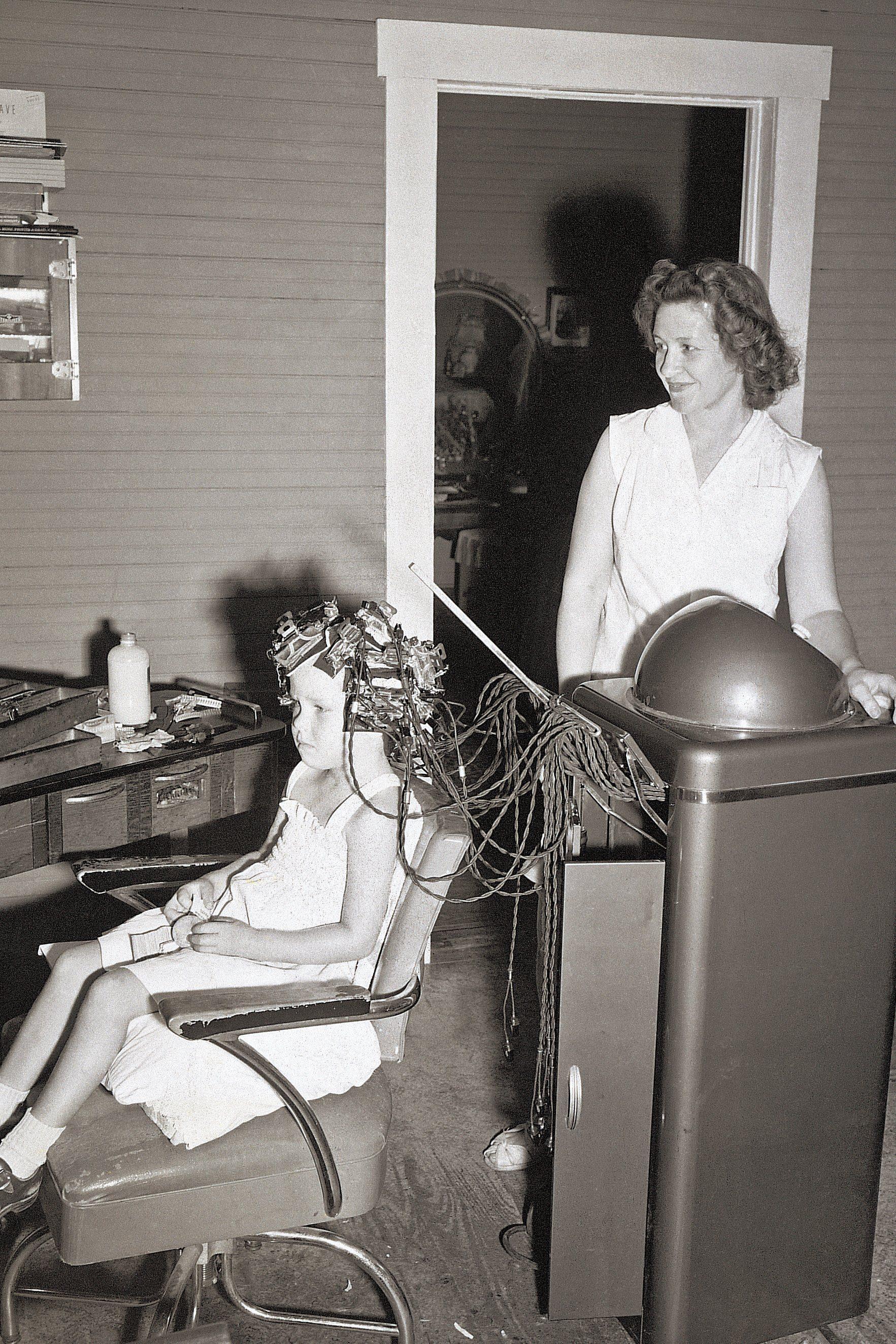 vintage hair salon photo