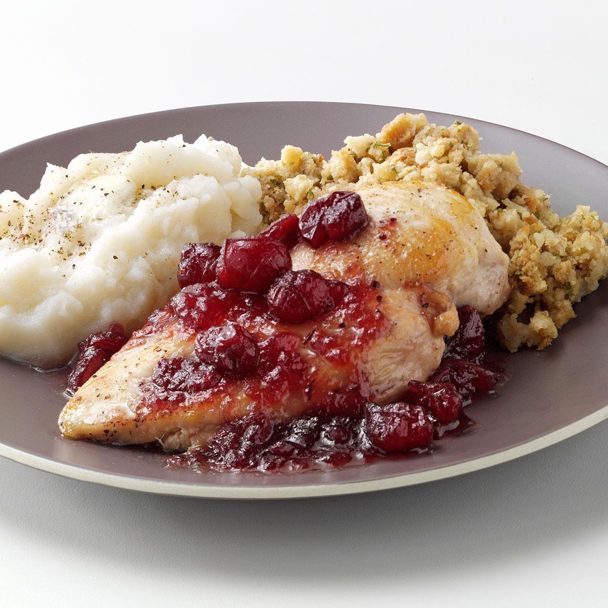 Maple cranberry chicken recipe