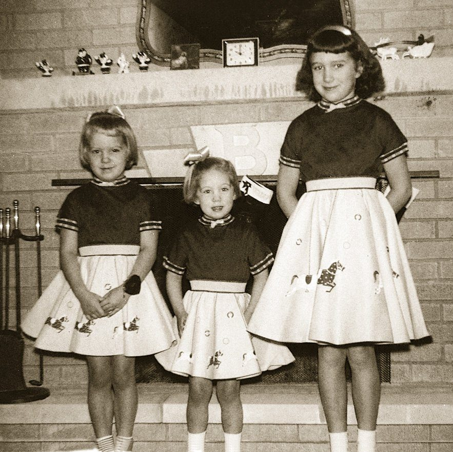 poodle skirts vintage photo
