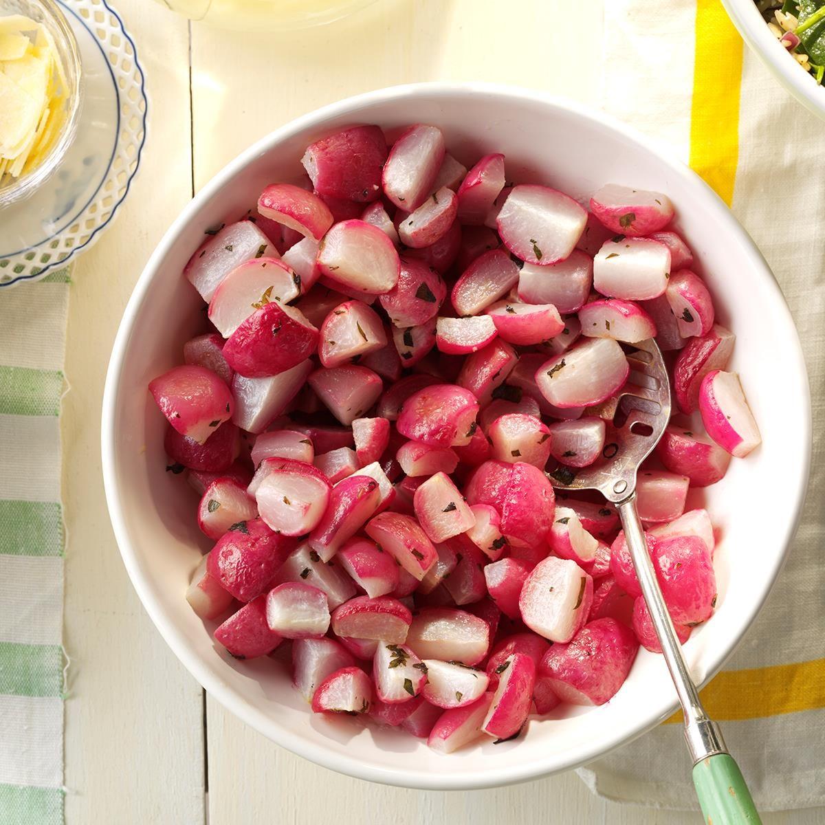 Roasted radishes recipe