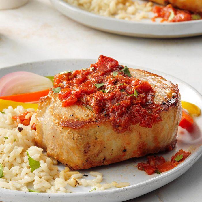 Special pork chops