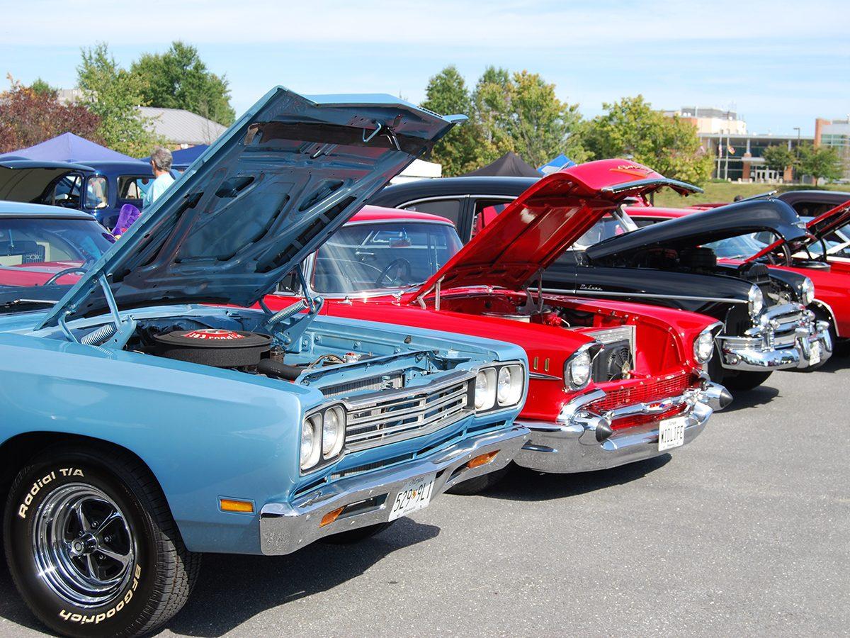 Classic car parts - classic car show