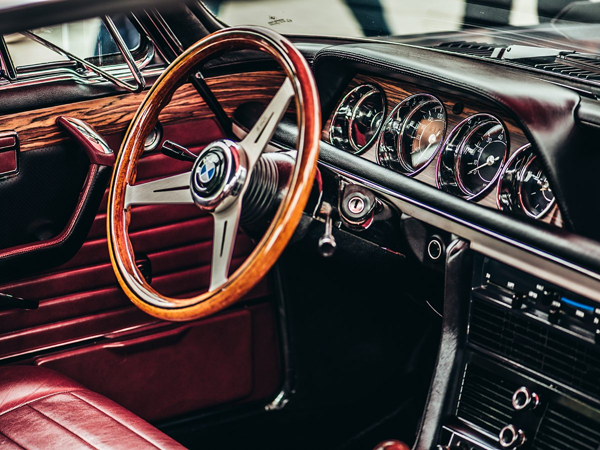 Classic car parts - vintage BMW interior