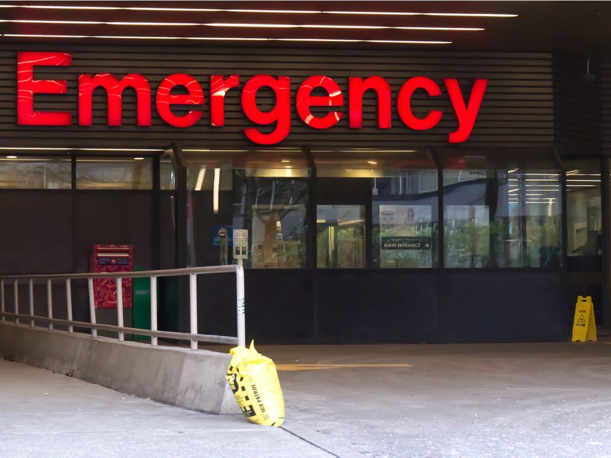 Hospital in Vancouver, British Columbia, Canada