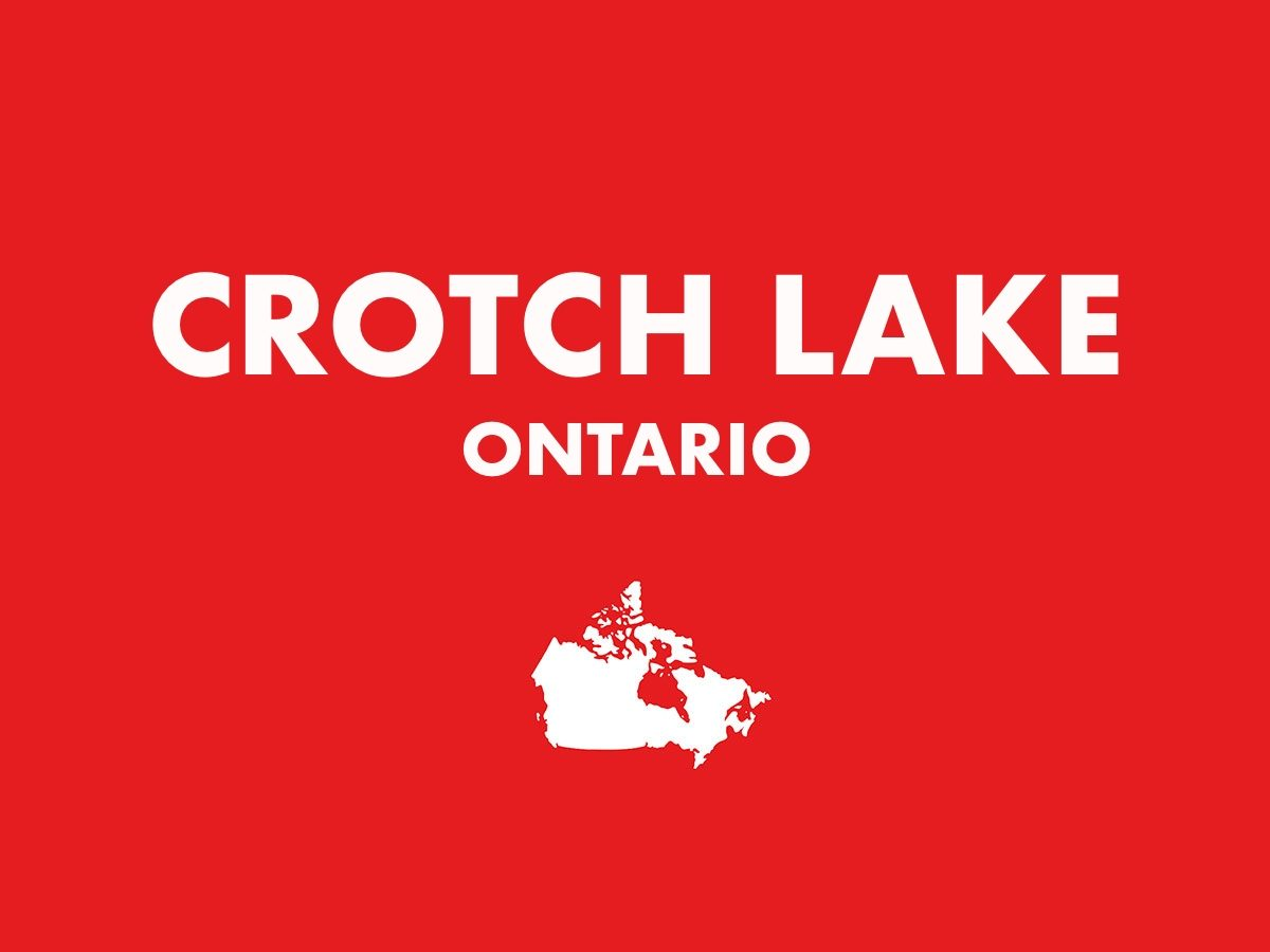 Crotch Lake, Ontario