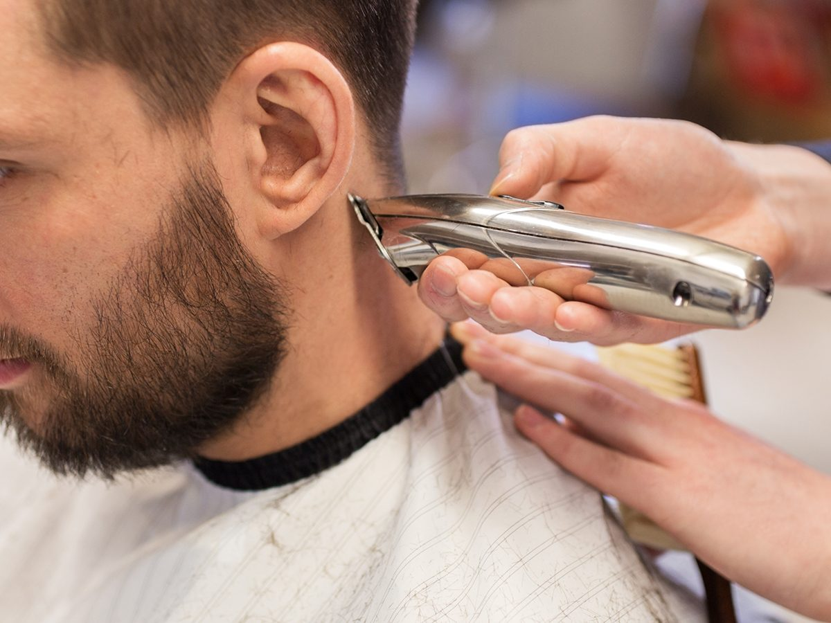 DIY barber tips - how to cut your own hair