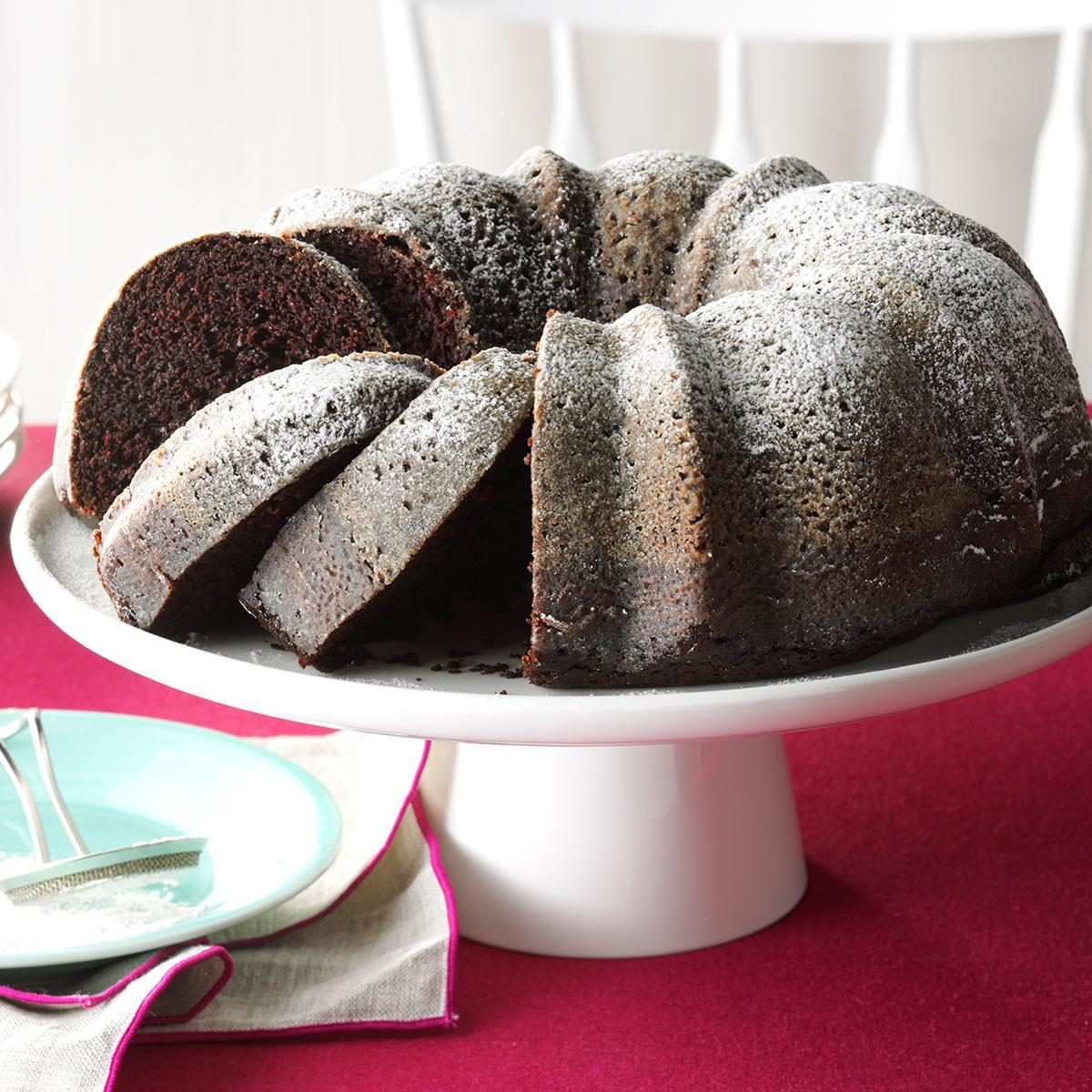 Contest-winning moist chocolate cake