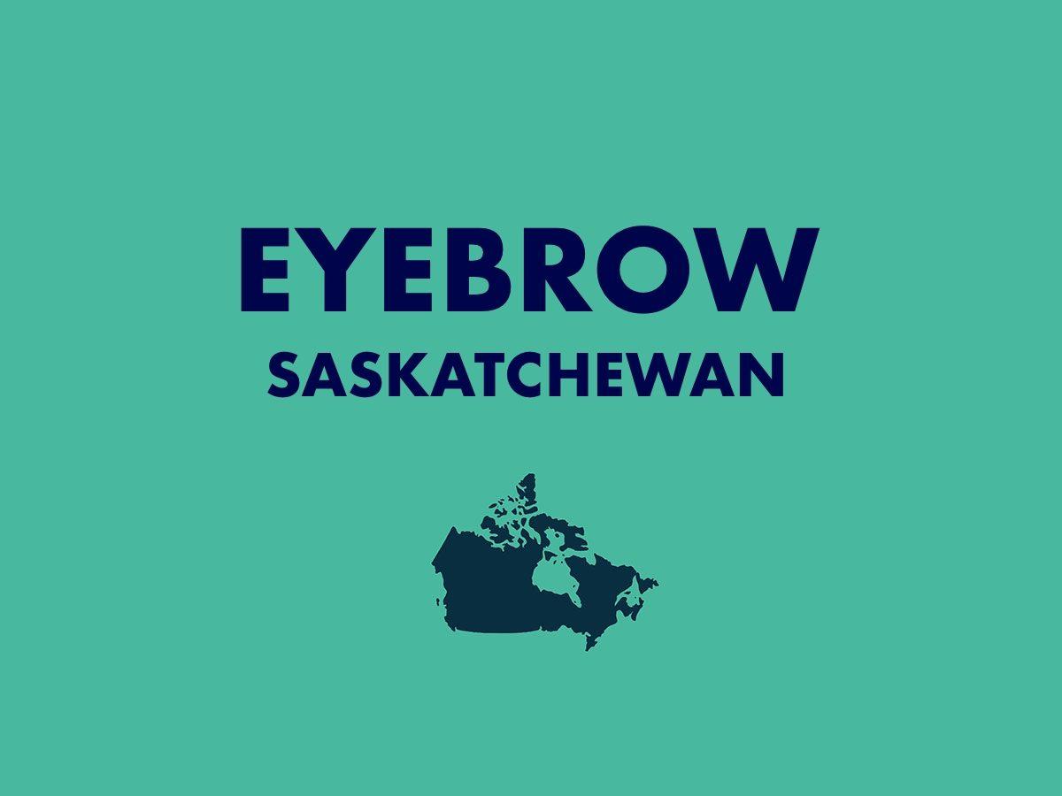 Eyebrow, Saskatchewan