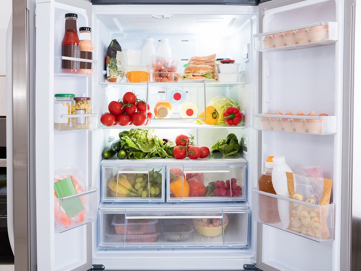 How to clean inside the refrigerator according to Charles the Butler