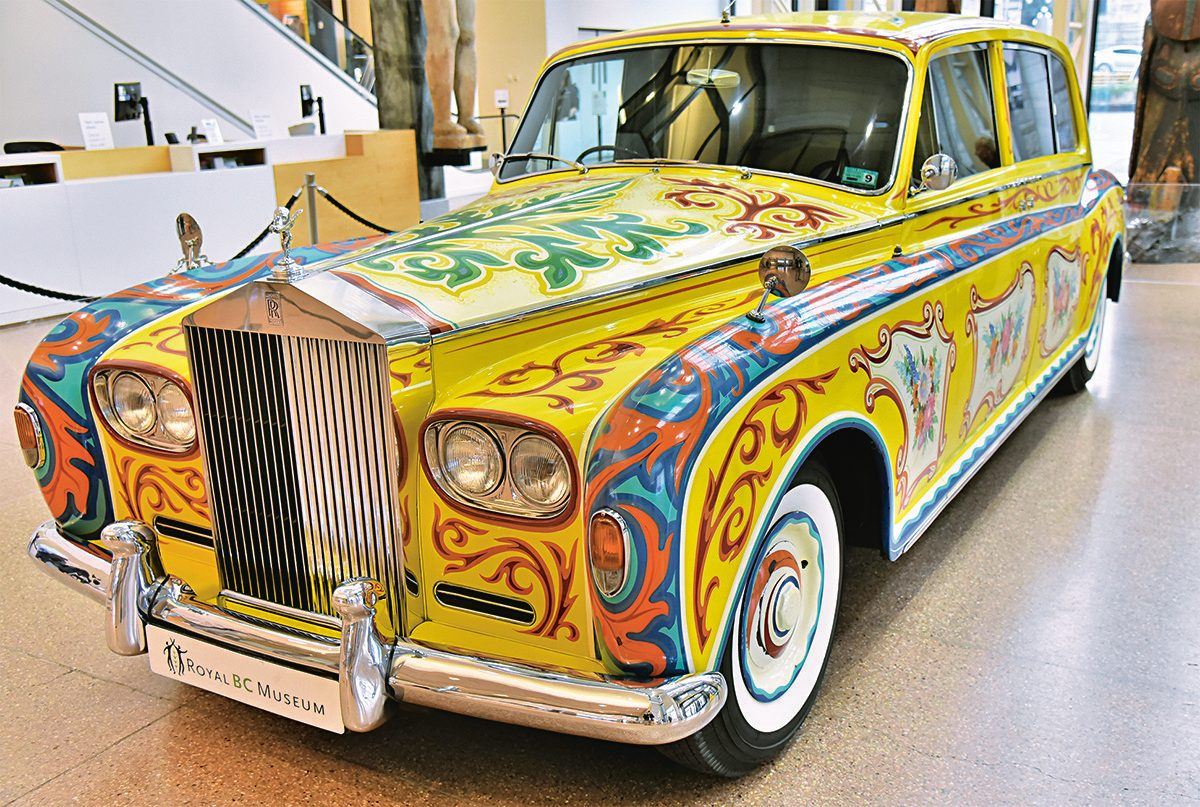 John Lennon's psychedelic Rolls Royce limousine