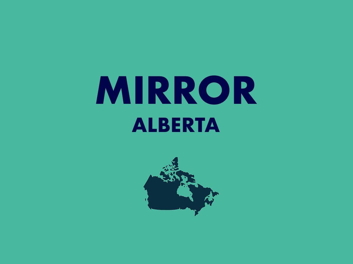 Mirror, Alberta