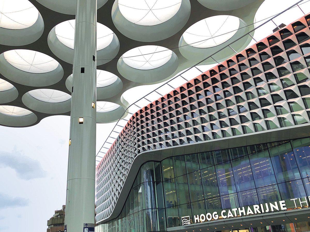 Modern architecture in Utrecht, Netherlands