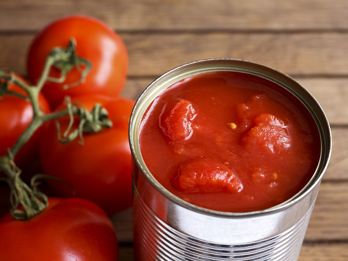 Pantry essentials - canned tomatoes