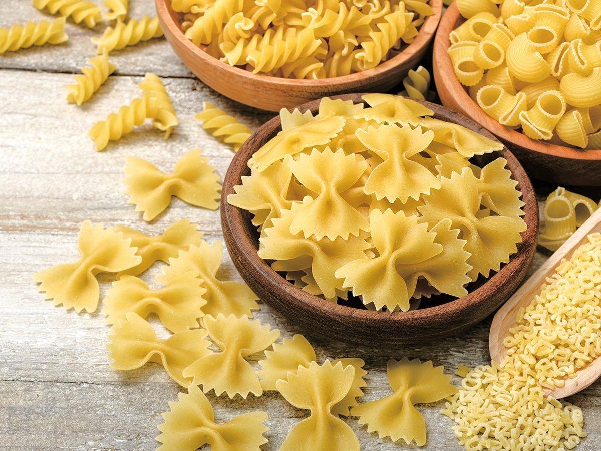 Pantry essentials - dried pasta