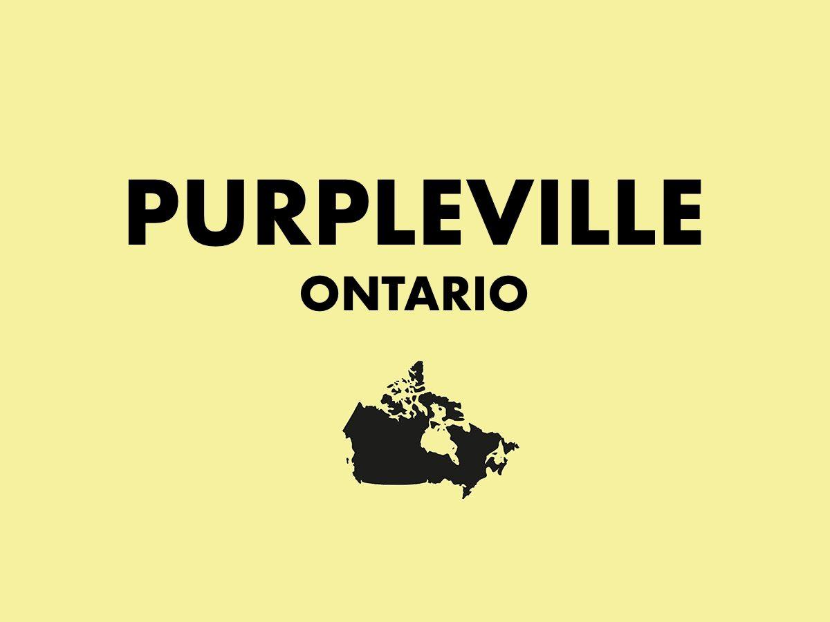 Purpleville, Ontario