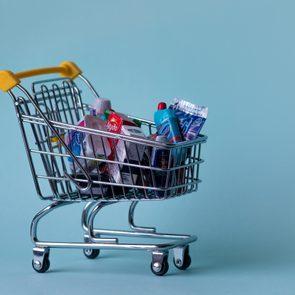 Miniature shopping cart - concept