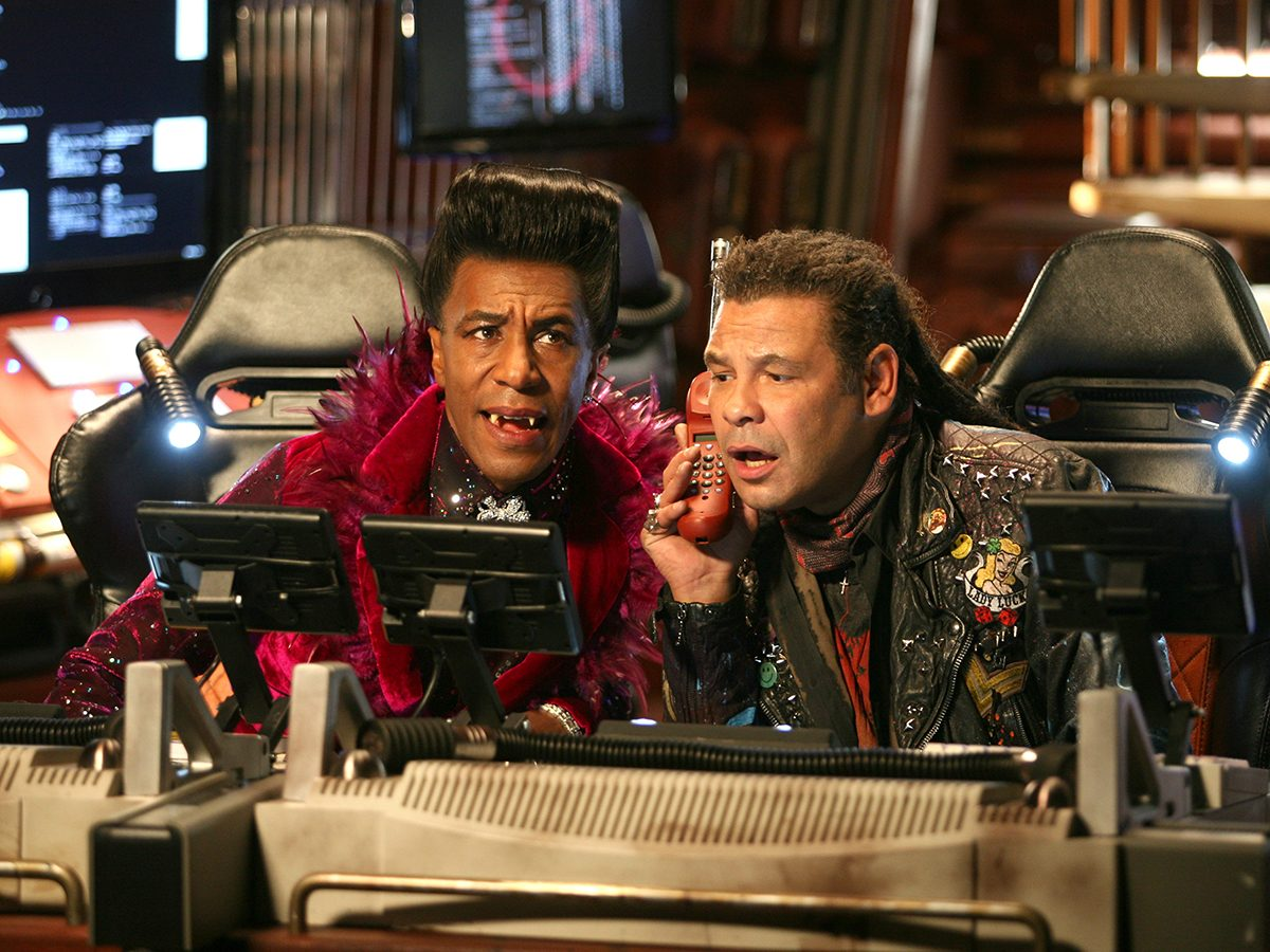 Red Dwarf on BritBox