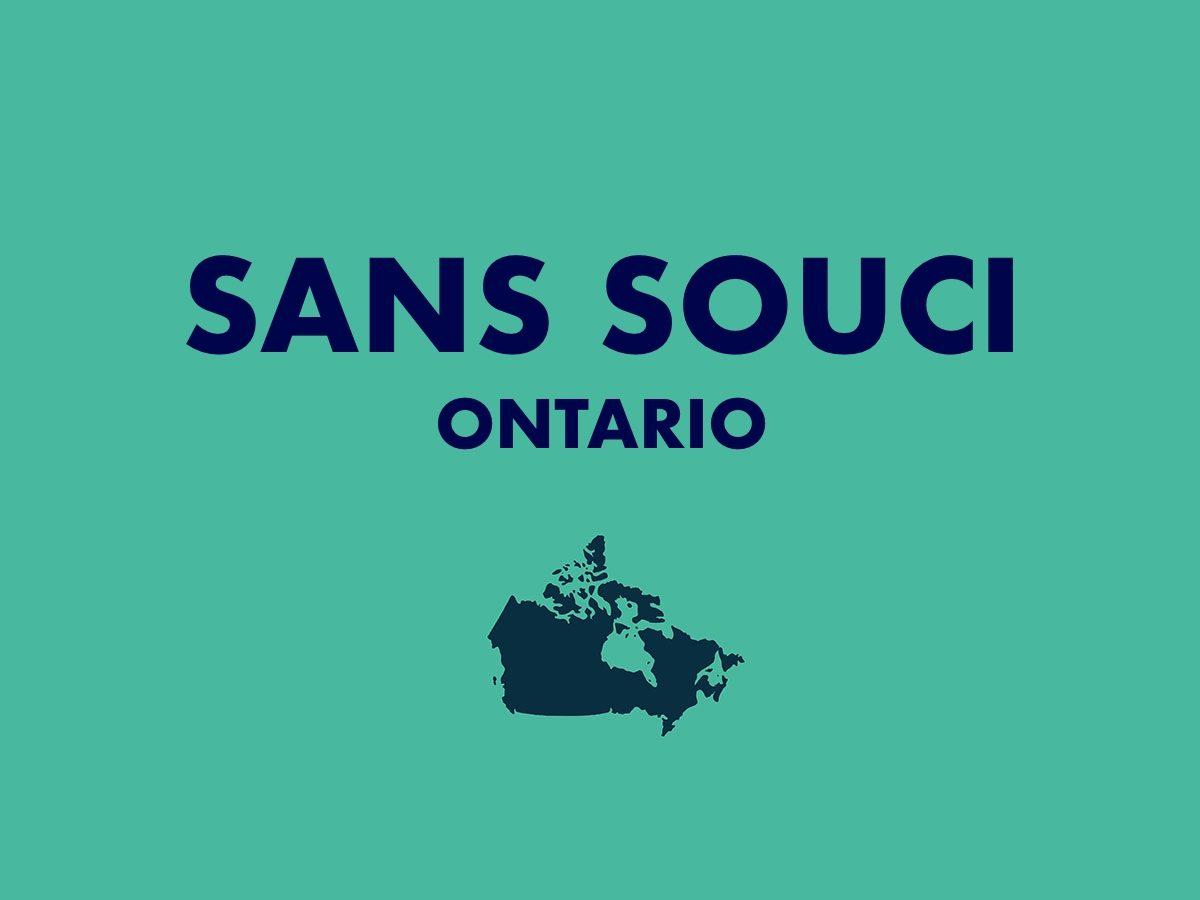 Sans Souci, Ontario