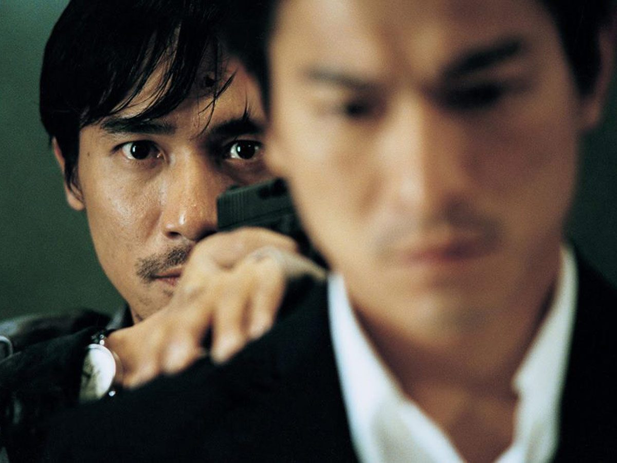 Tony Leung and Andrew Lau in Infernal Affairs