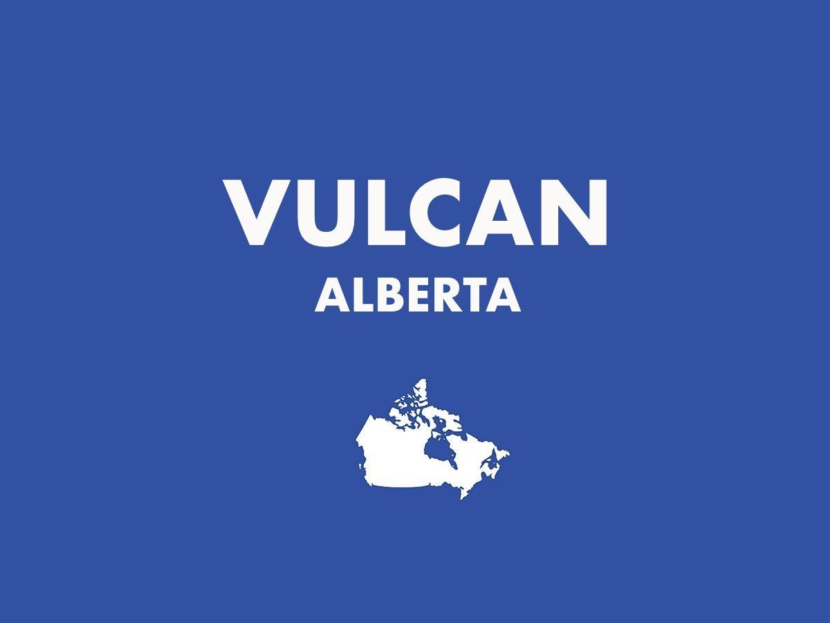 Vulcan, Alberta