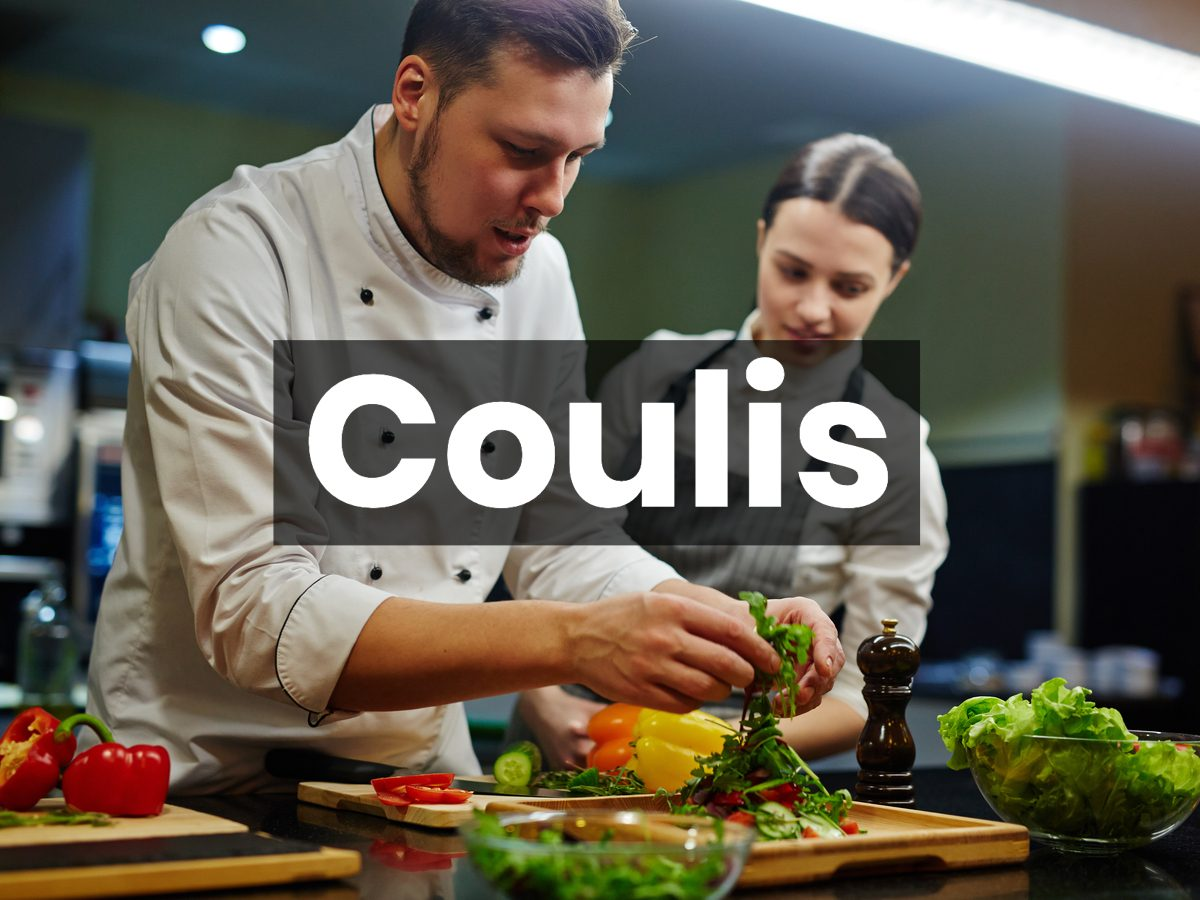 Cooking terms - coulis