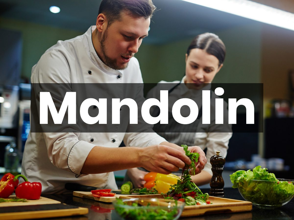 Cooking terms - Mandolin