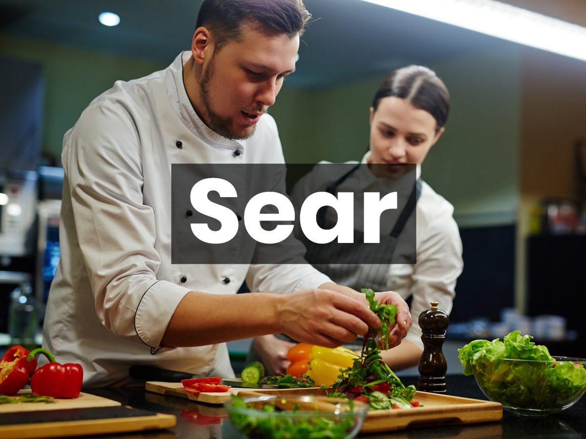 Cooking terms - sear