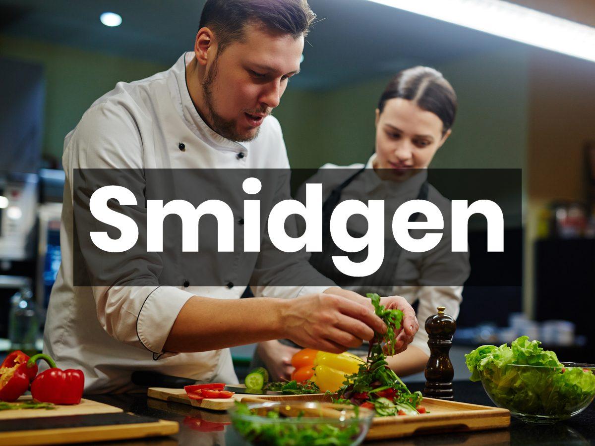 Cooking terms - smidgen
