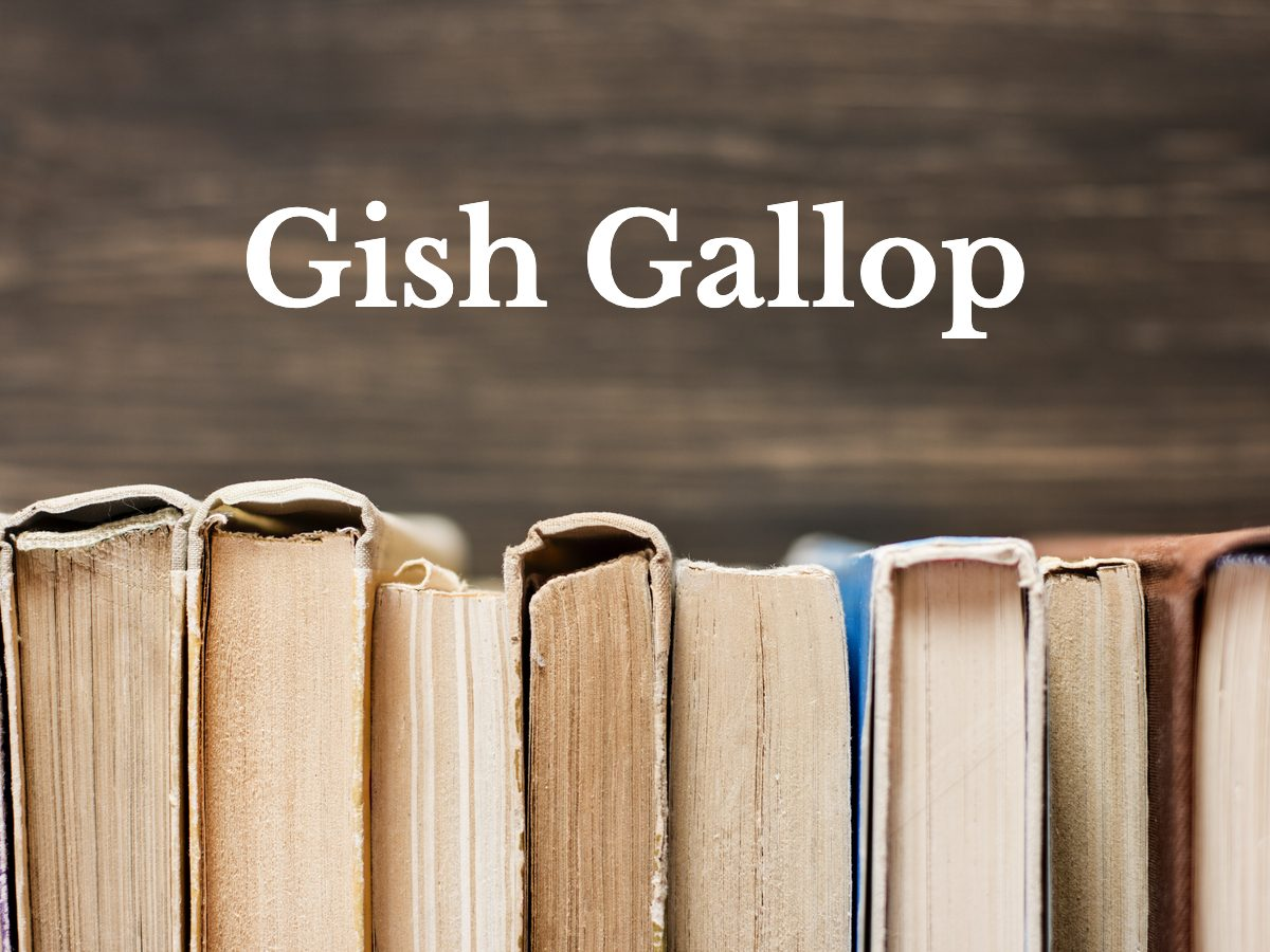 Gish Gallop