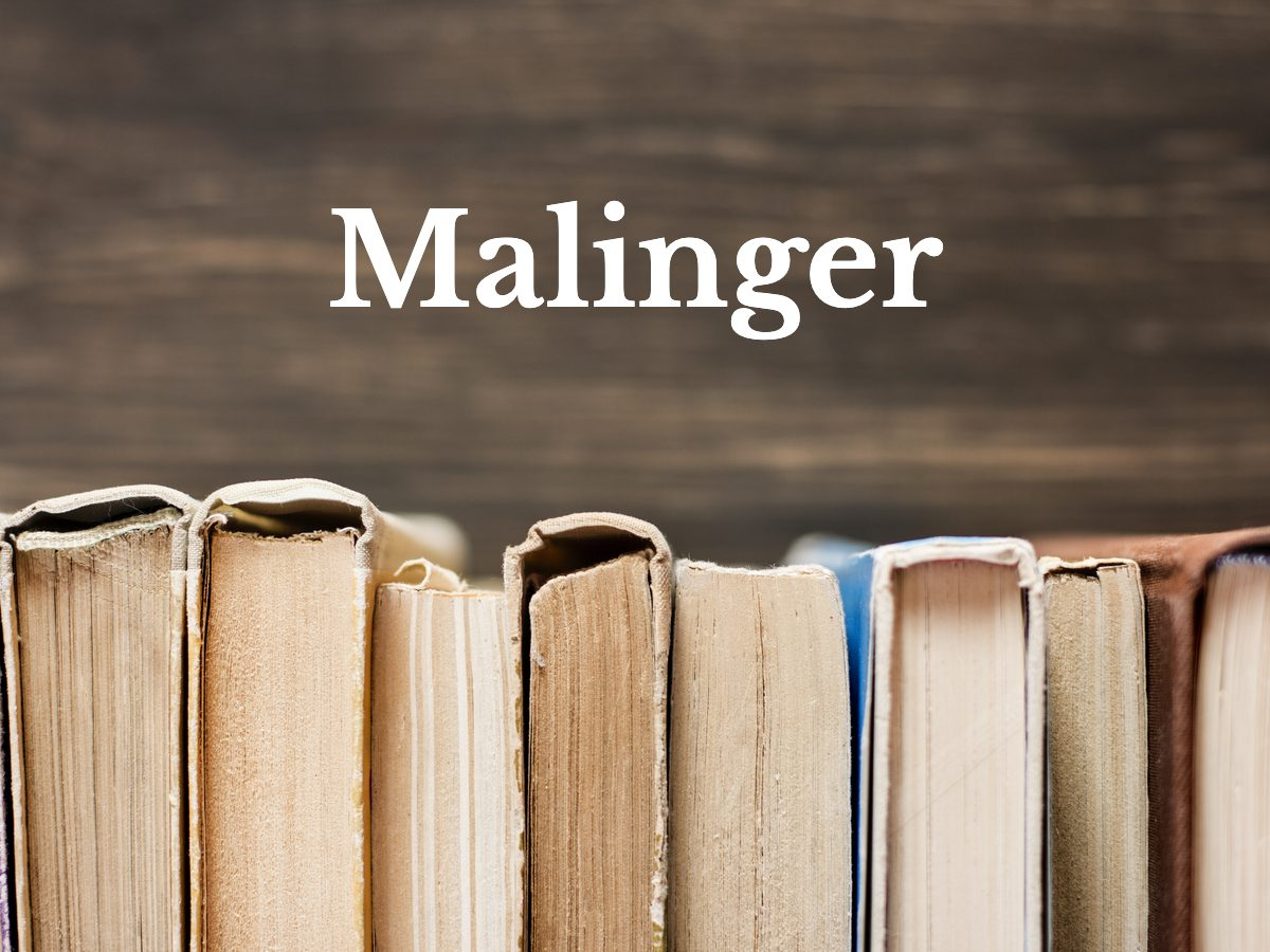Malinger
