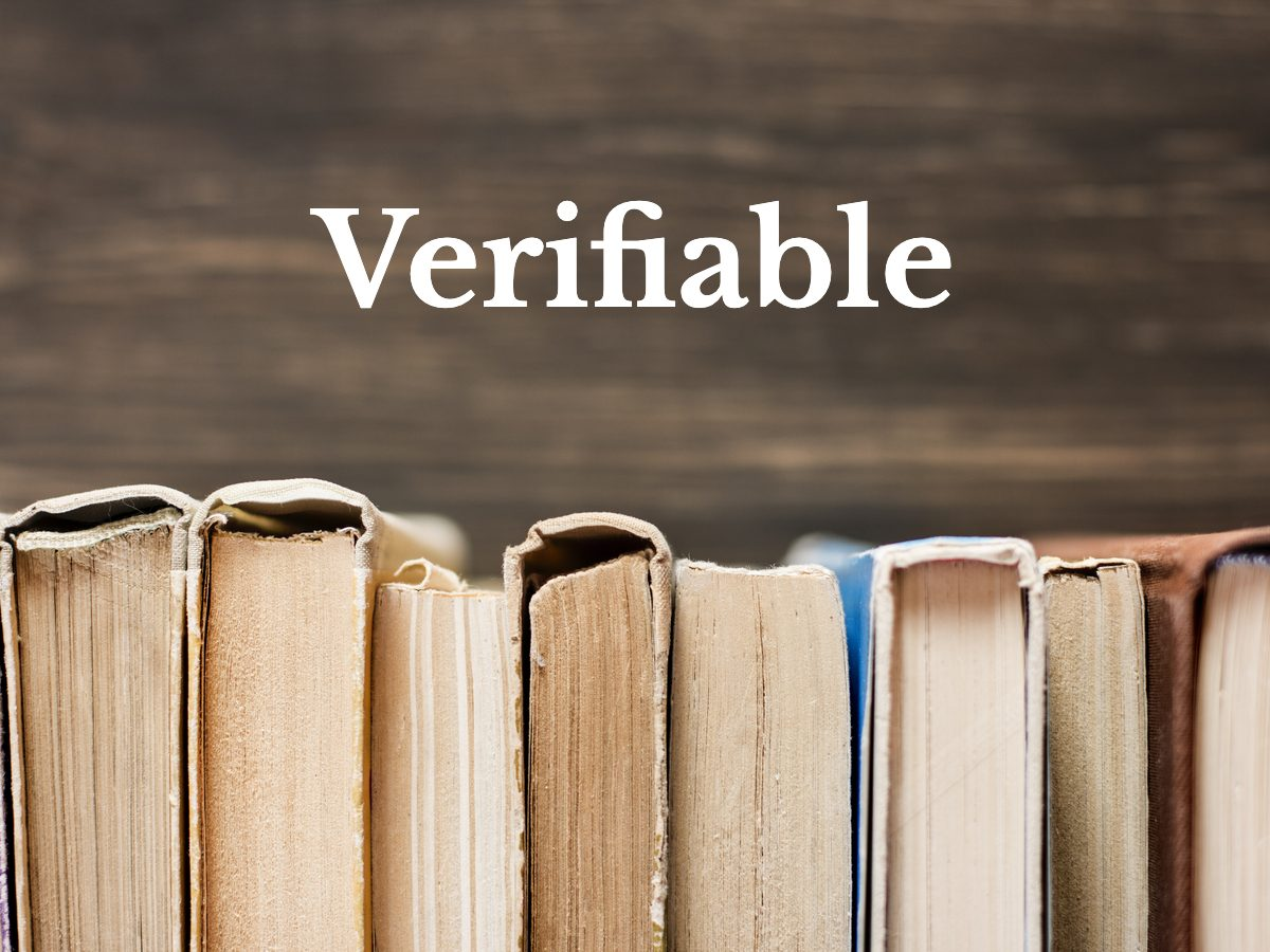 Verifiable