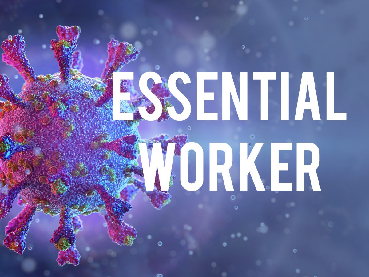 COVID-19 terms - essential worker