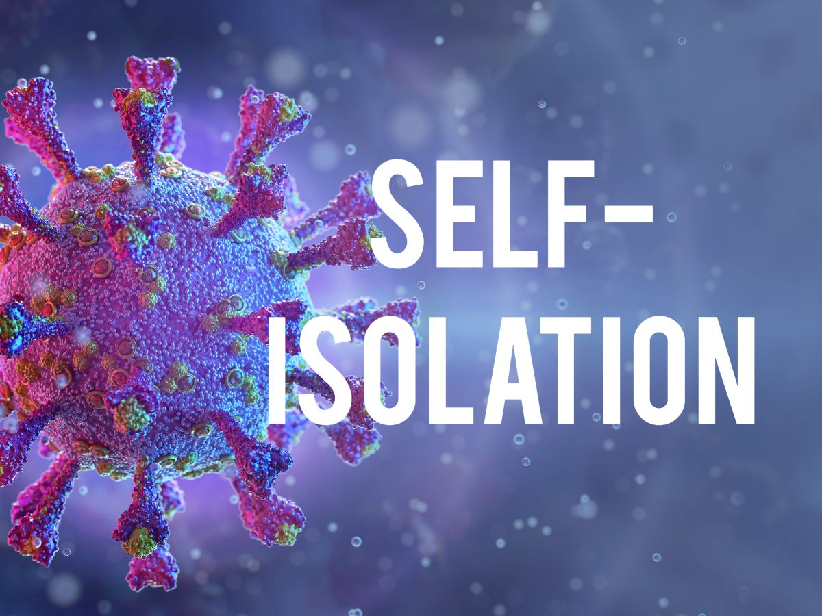 COVID-19 terms - self-isolation