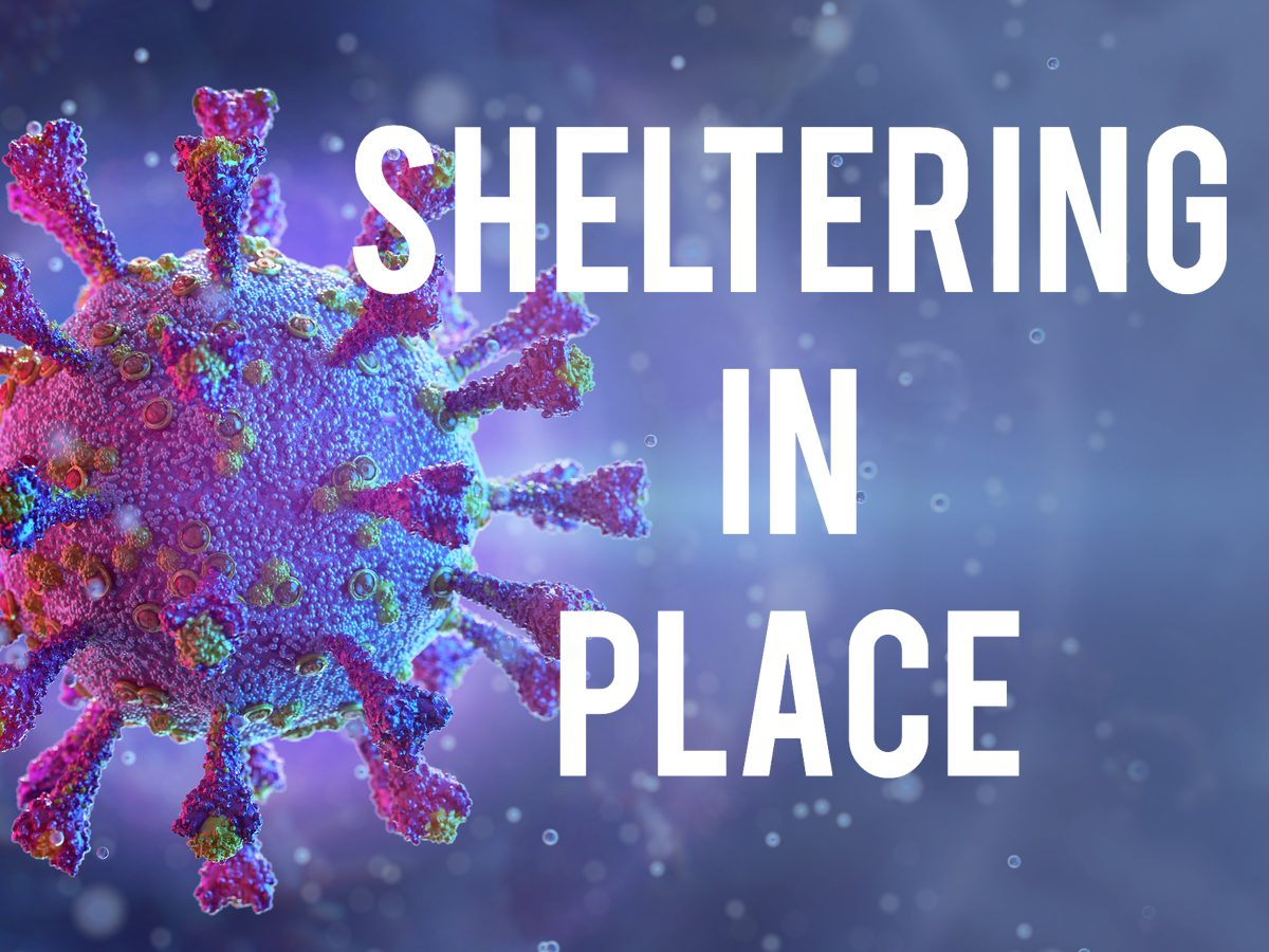 COVID-19 terms - sheltering in place