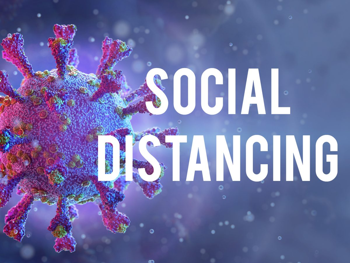 COVID-19 terms - social distancing