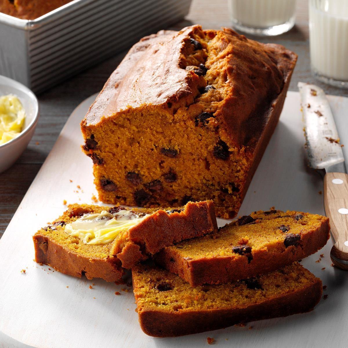 Contest-Winning Chocolate Chip Pumpkin Bread recipe