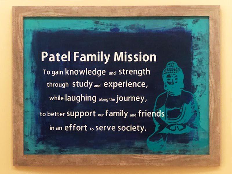 Patel family mission
