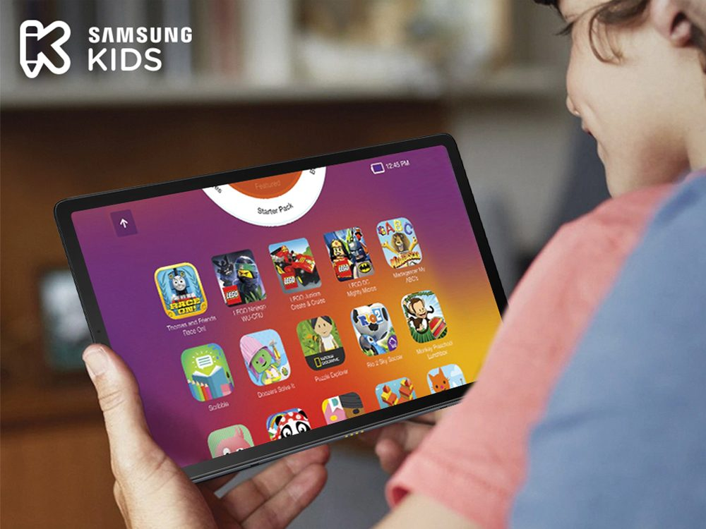 Samsung kids tablet