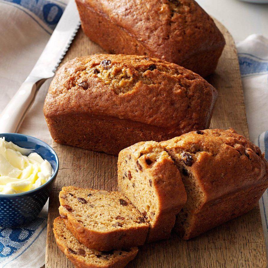 Sweet potato cinnamon bread recipe