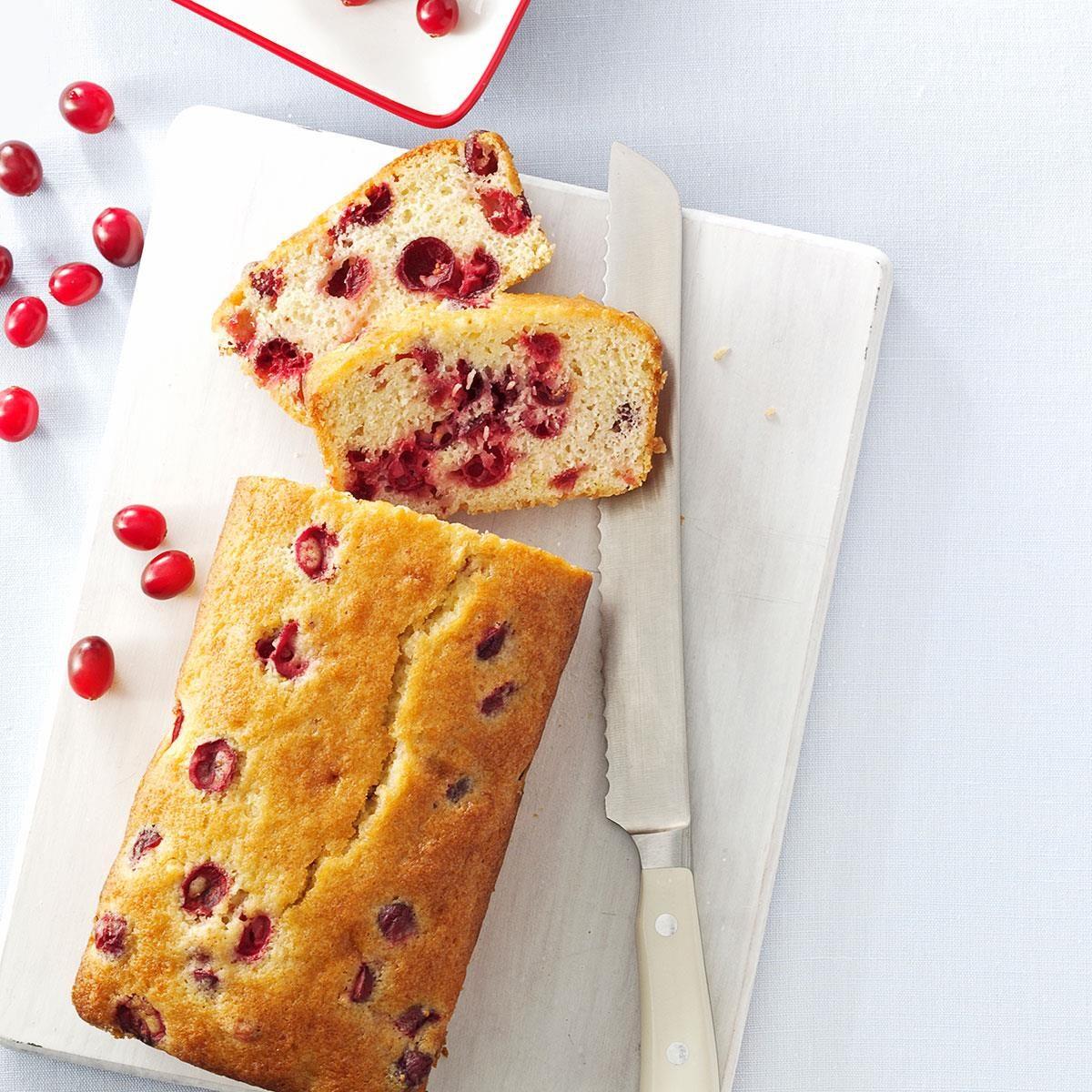 Tart Cranberry Quick Bread recipe
