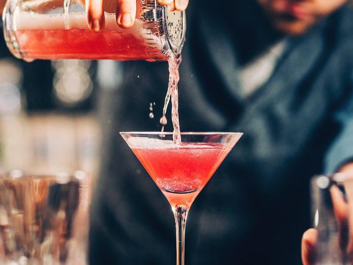 Apple-tini cocktail recipe - Nickel 9 Distillery