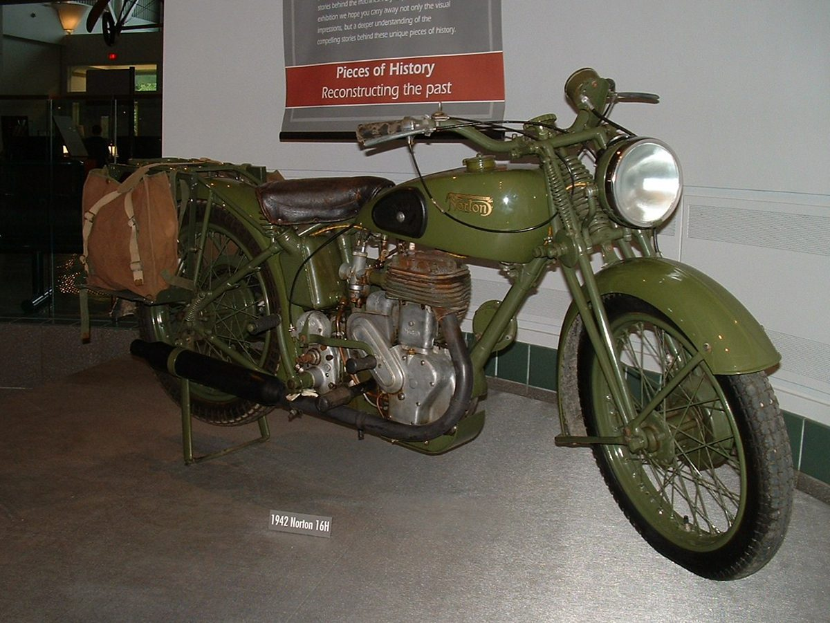 Canadian history - motorcycle