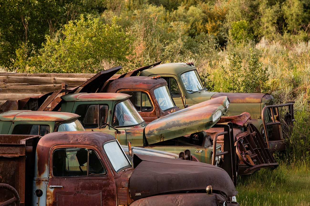 Canadian history - old trucks