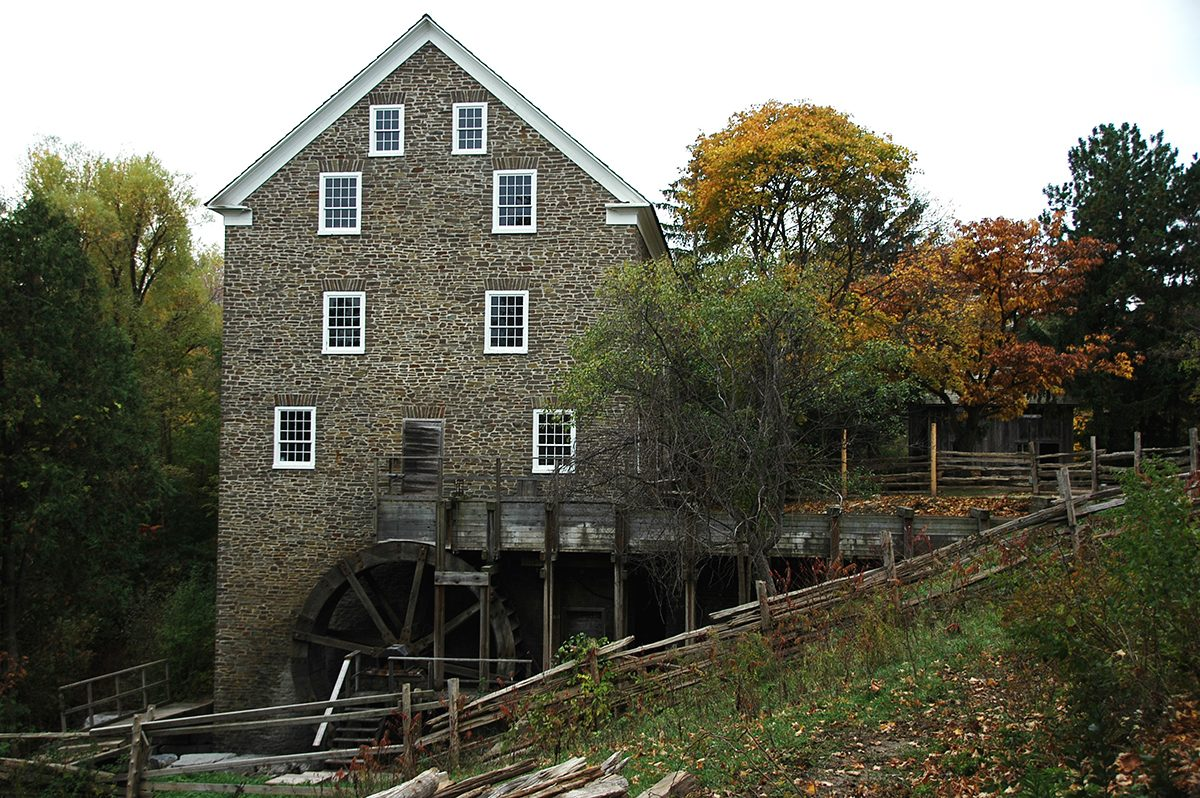 Canadian history - Roblin's Mill at Black Creek Pioneer Village
