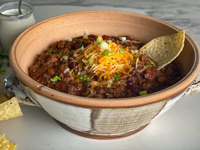 Chocolate and jalapeno chili recipe